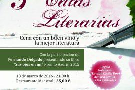 Terceras Catas Literarias con Fernando Delgado