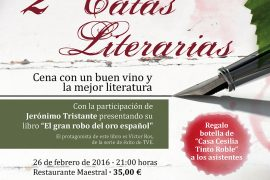 Segundas catas literarias con Jerónimo Tristante
