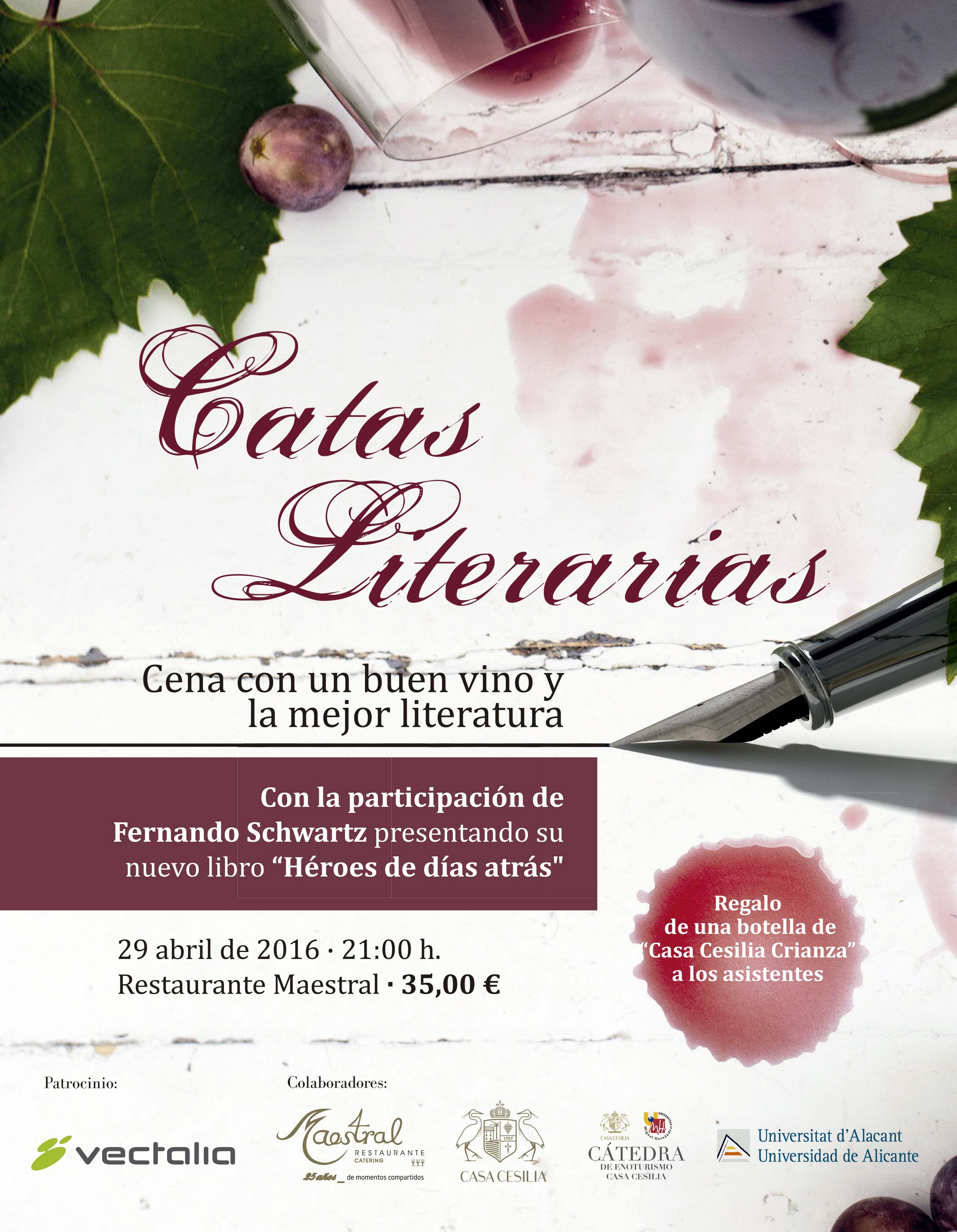 Cuartas Catas Literarias Maestral