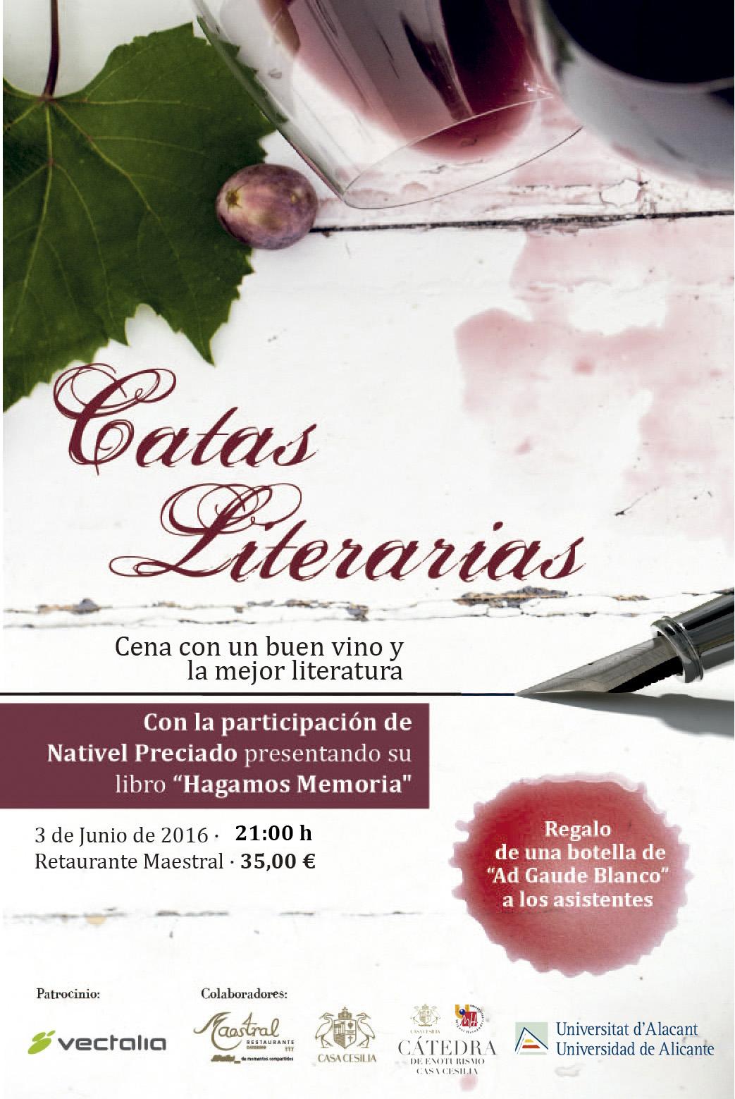 Quintas Catas Literarias Maestral