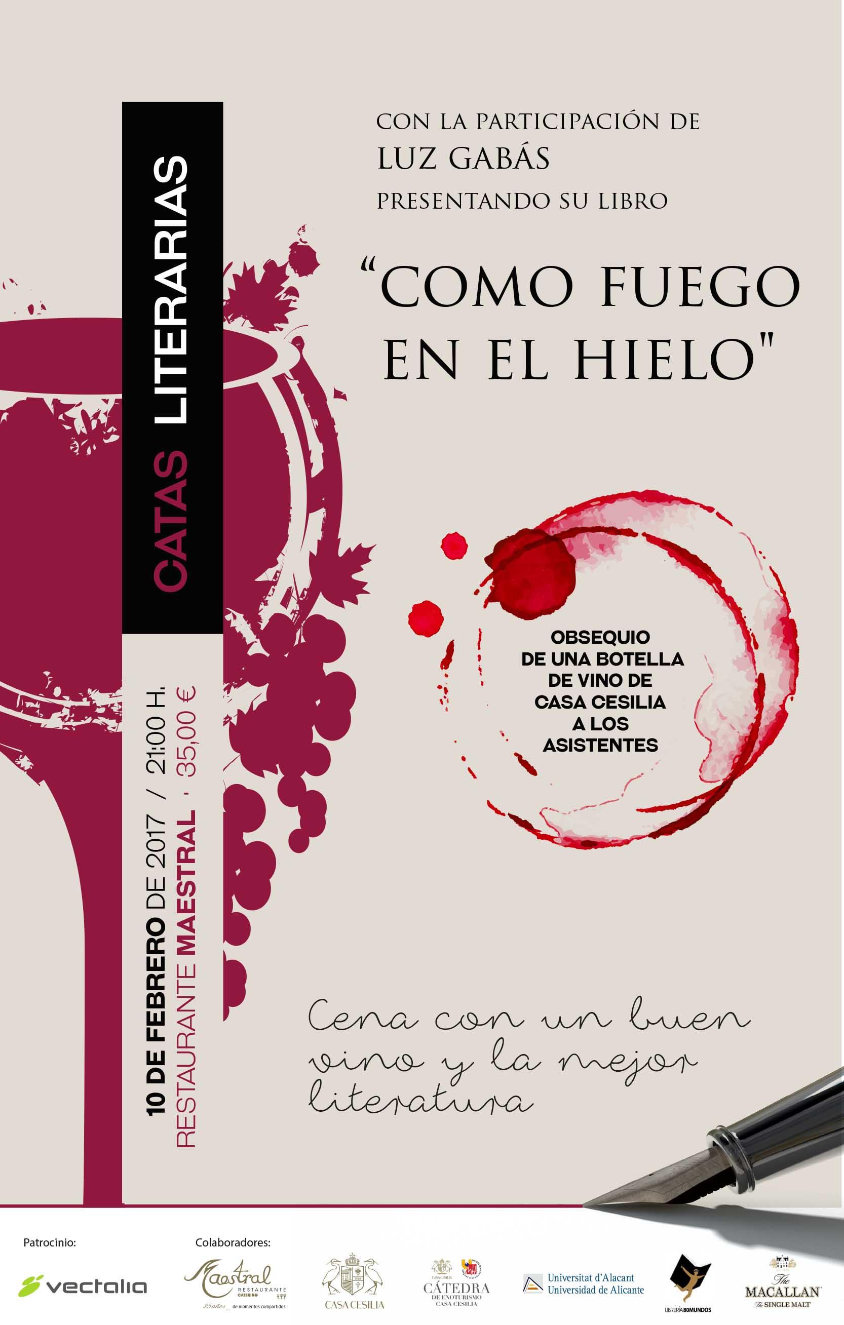 Catas Literarias Luz Gabas