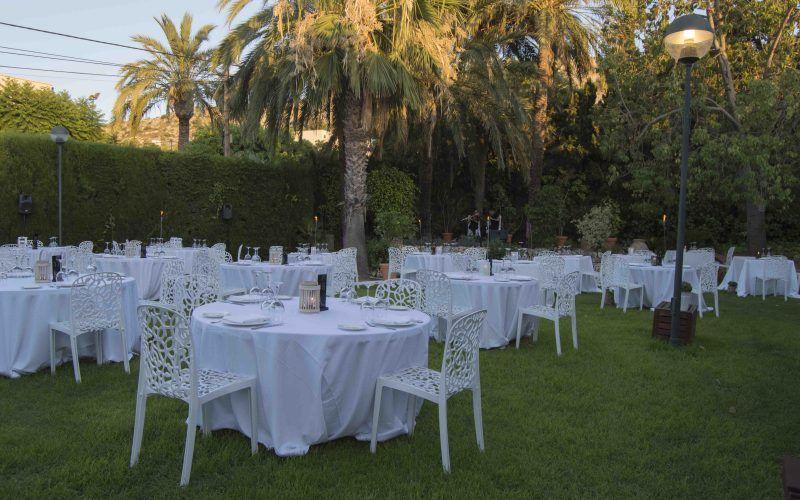 Jardín Maestral para celebraciones