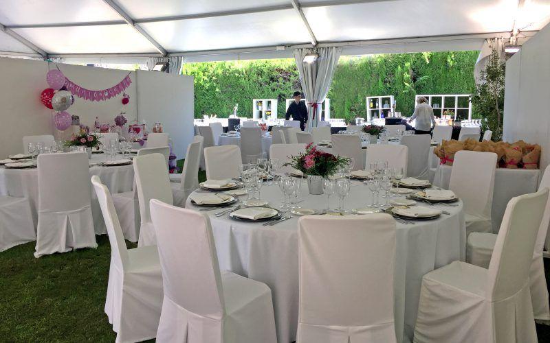 Jardín para celebraciones y eventos