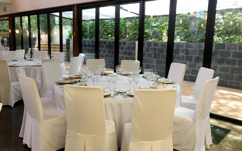 Salón de banquetes para celebraciones