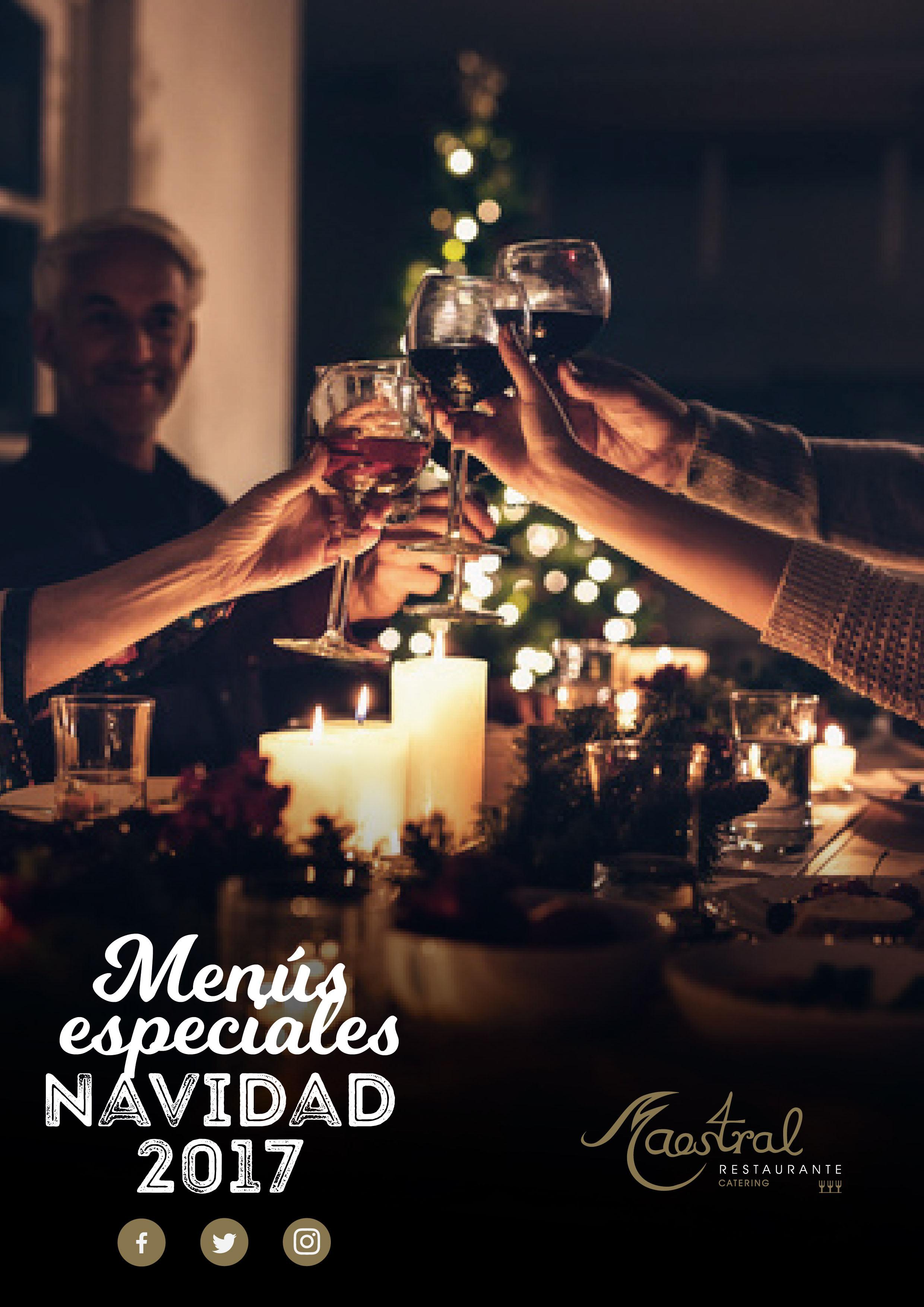 Comidas y cenas empresa Maestral Navidad