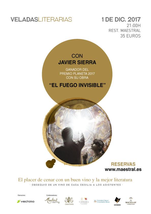 Veladas Literarias Maestral con Javier Sierra