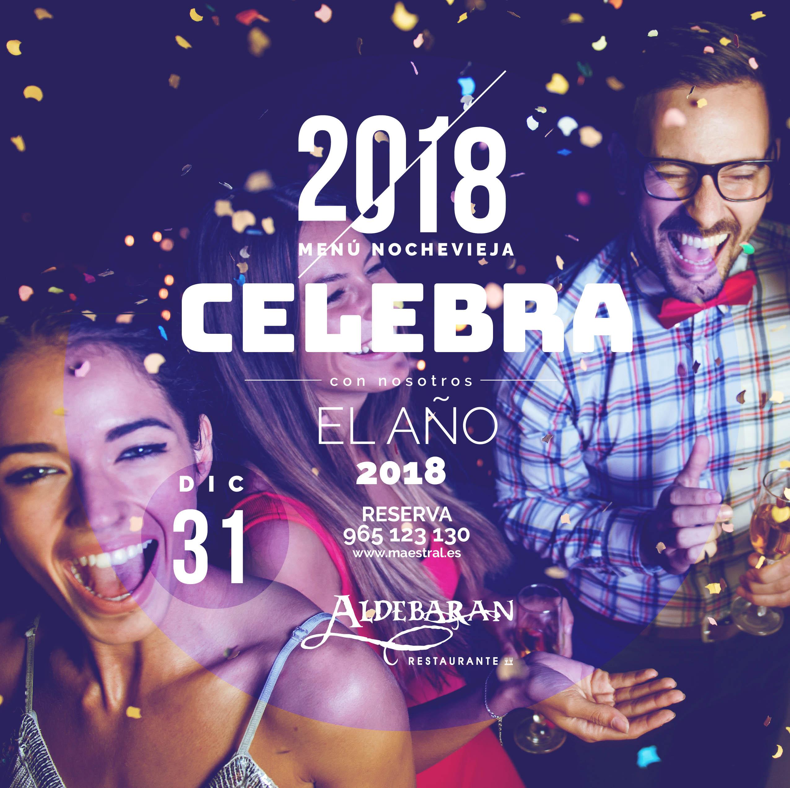 Menu Nochevieja 2017 Aldebarán Alicante