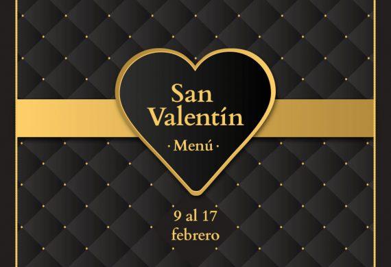 Menú especial San Valentín Maestral 2018