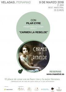 Veladas Literarias Maestral con Pilar Eyre