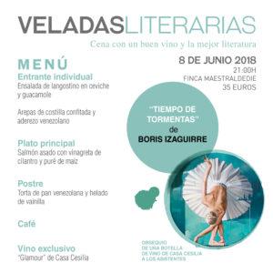 Veladas Literarias Maestral con Boris Izaguirre