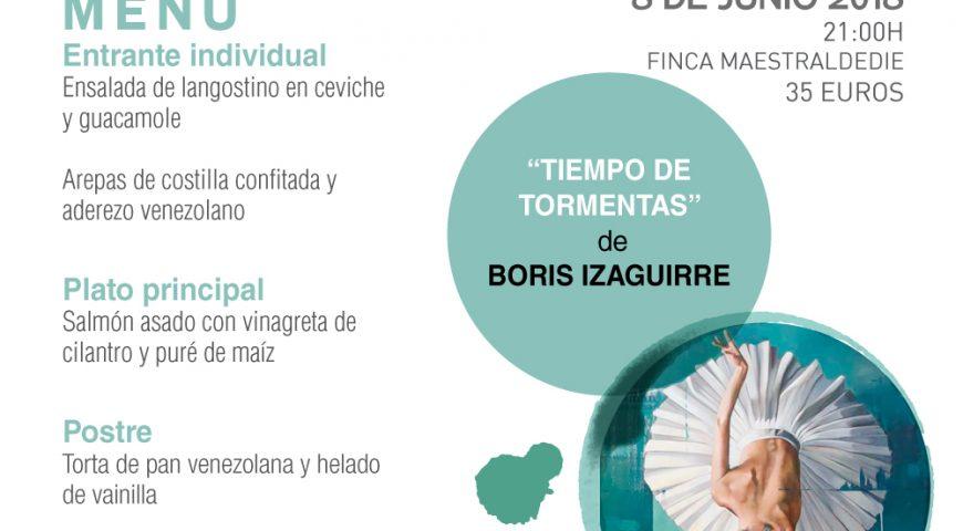"""Boris Izaguirre cuelga el cartel de """"no hay billetes"""" en las Veladas Literarias"""