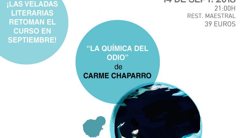 Carme Chaparro inaugura el curso de las Veladas Literarias