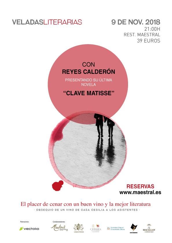 Veladas Literarias Maestral Reyes Calderón