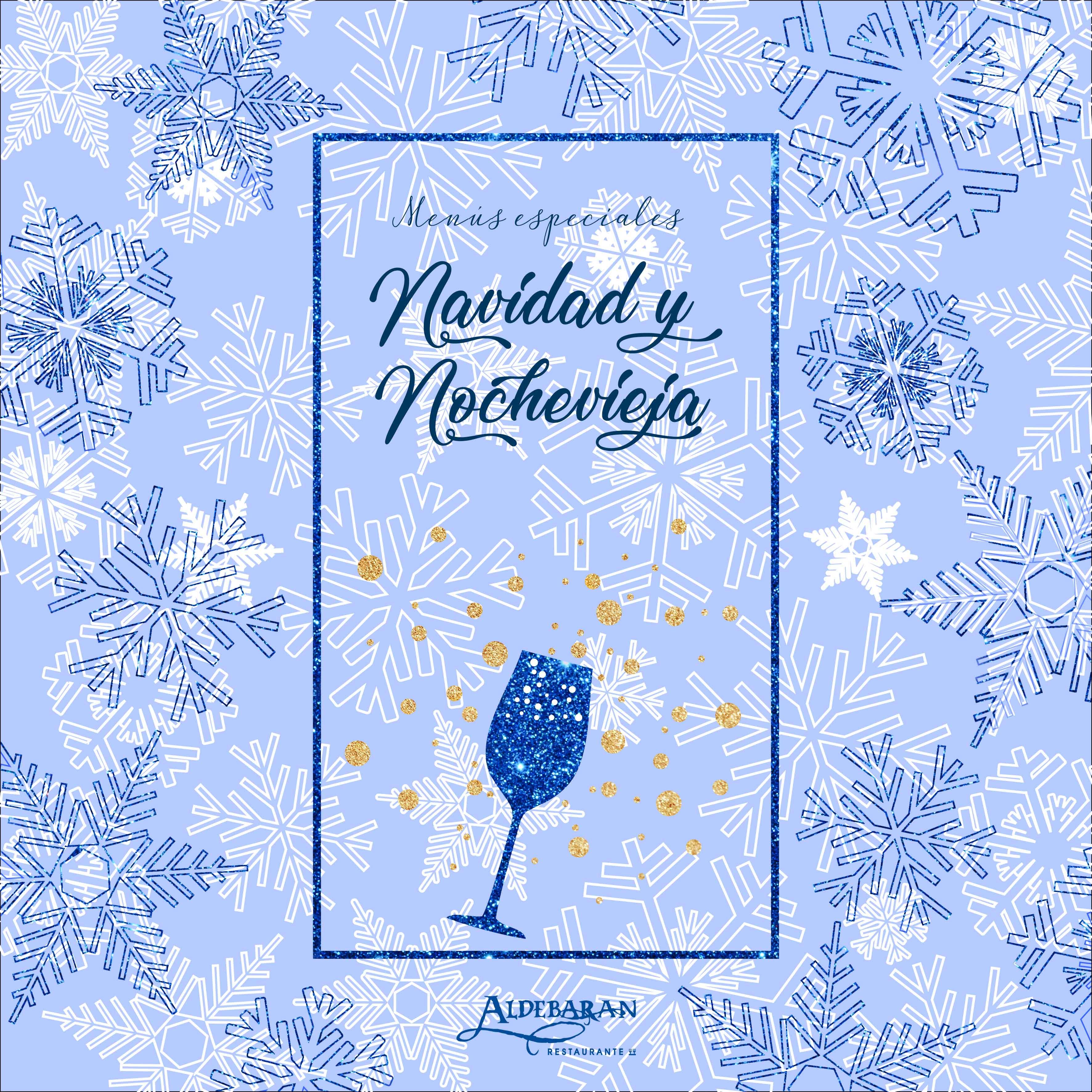 Menu Navidad y Nochevieja Aldebaran 2018