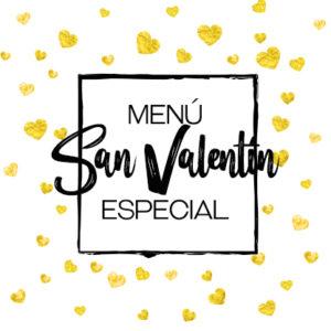 Menú especial San Valentín Maestral
