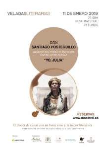 Veladas Literarias Maestral Santiago Posteguillo