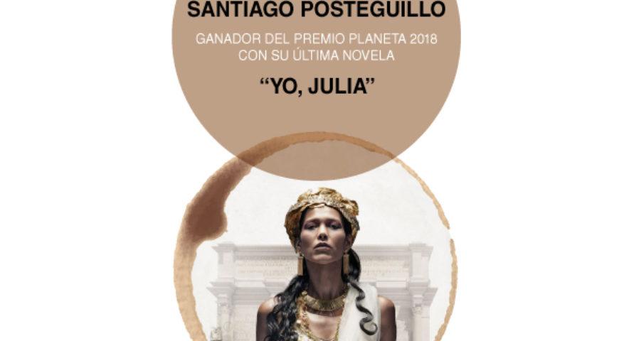 Aforo completo en las primeras Veladas Literarias de 2019 con Santiago Posteguillo