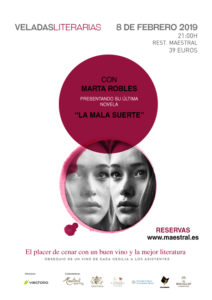 Veladas Literarias Maestral con Marta Robles