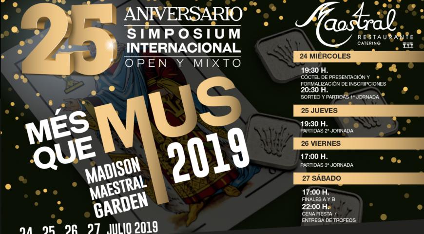 Maestral acoge el 25º aniversario del Simposium 'Més que mus'
