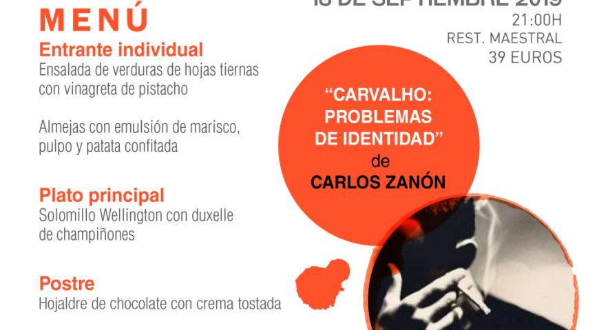 Las Veladas Literarias Maestral arrancan el curso con el inspector Carvalho