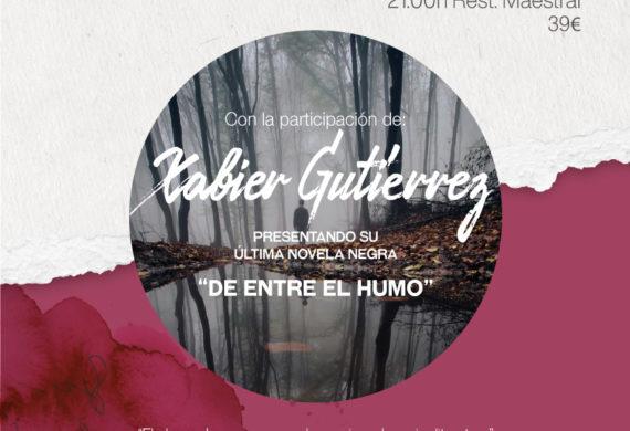 Veladas Literarias con Xabier Gutiérrez
