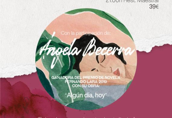 Veladas Literarias con Ángela Becerra