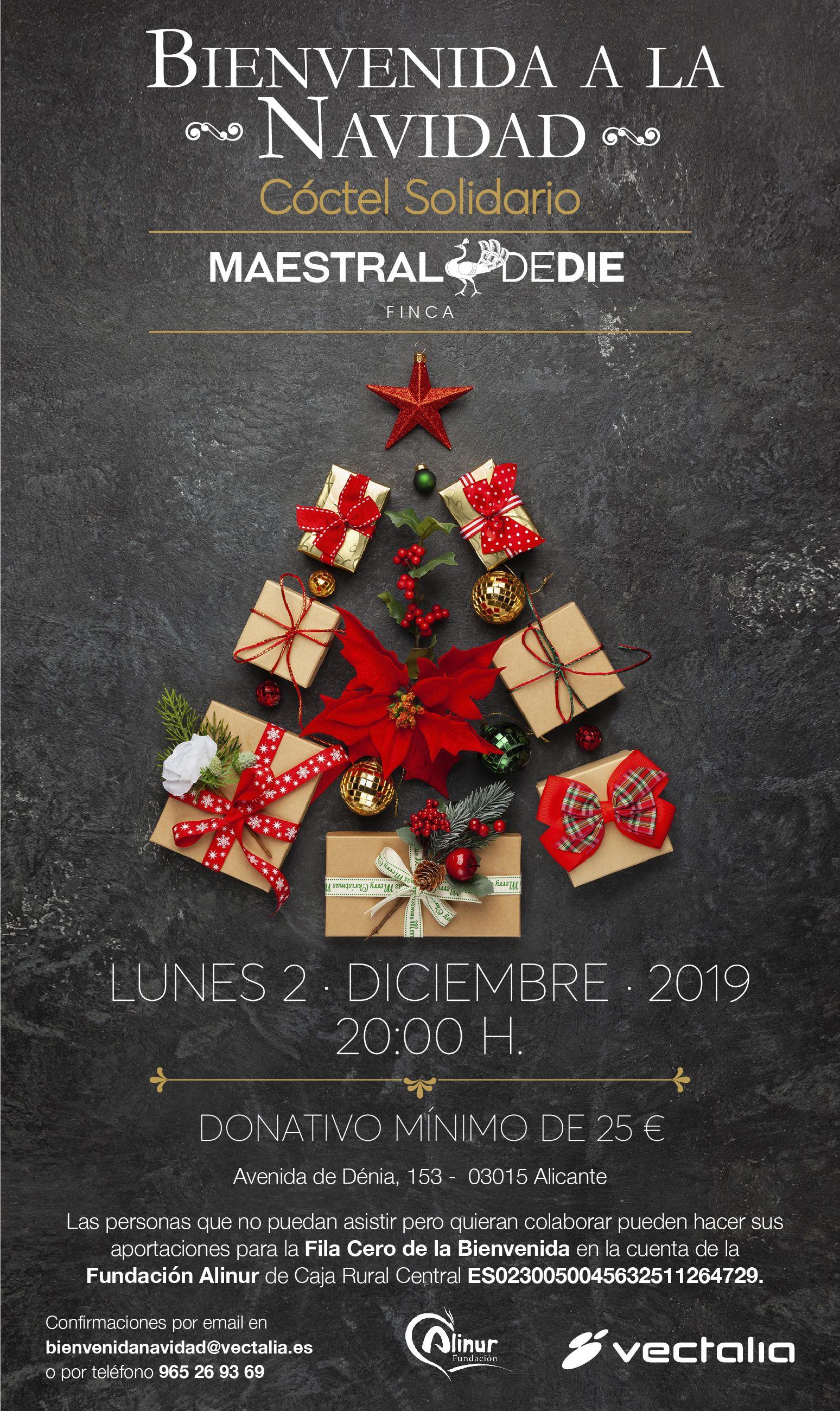 Invitación Bienvenida a la Navidad 2019 Alinur