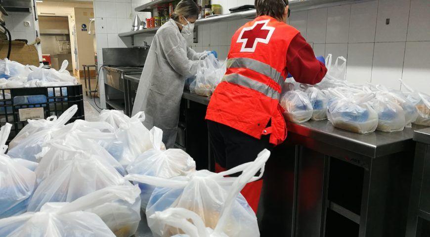 Maestral preparará menús calientes durante el Estado de Alarma para las personas sin hogar de Alicante