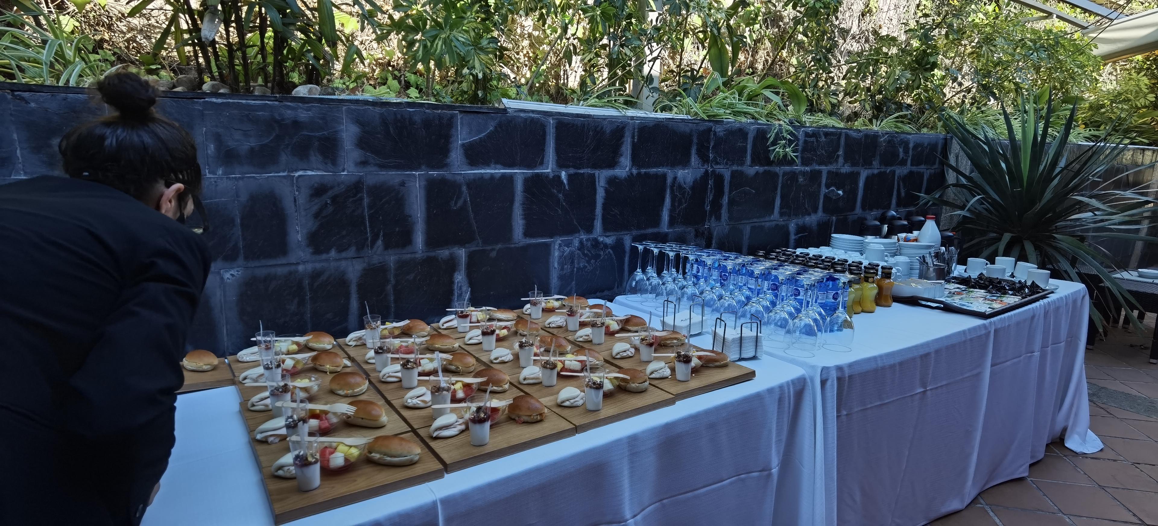 Desayuno saludable para el networking de AEPA en Maestral