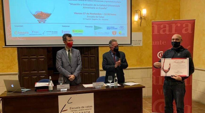 Iglesias, accésit en el Curso de Sumiller Profesional