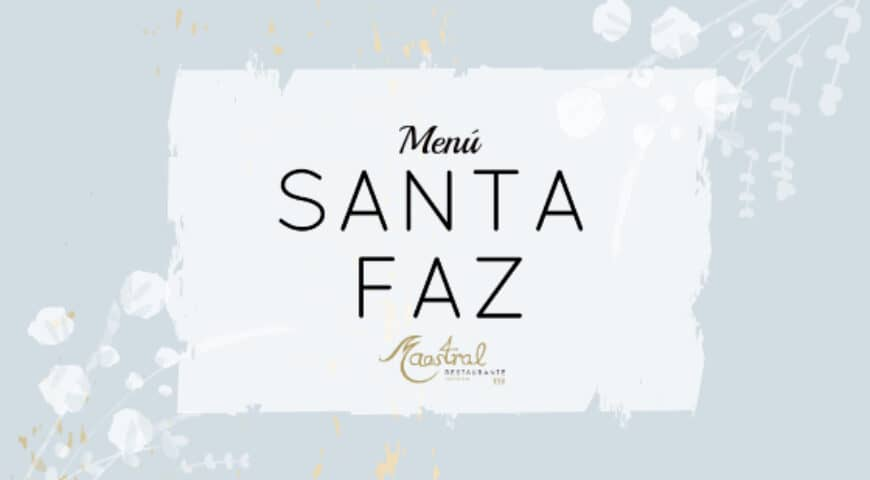 Santa Faz gastronómica en Maestral